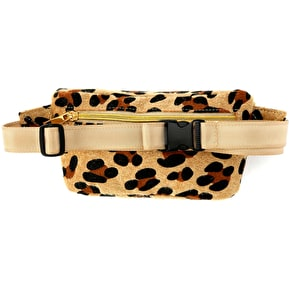 Mi-Pac Leopard Pony Bum Bag - Tan