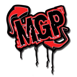 MGP Arrow Sticker - Red