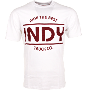 Independent T-Shirt - Indy White