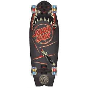 Santa Cruz Land Shark Night Shark Complete Cruiser - Black 27.7