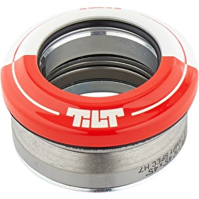 Tilt 50-50 Integrated Scooter Headset - Red/White