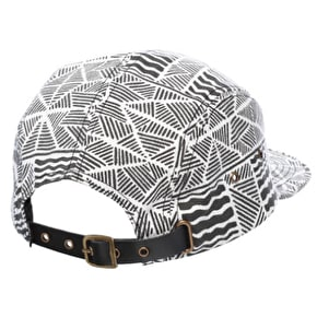 Globe Old Bark 5 Panel Cap - Black