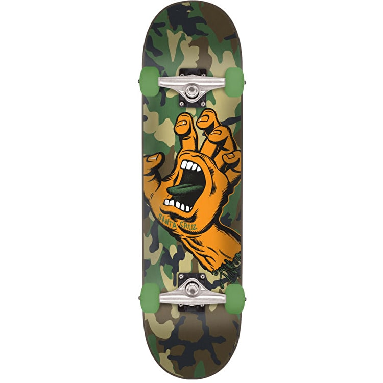 Santa Cruz Screaming Hand Camo Complete Skateboard - 6.75""
