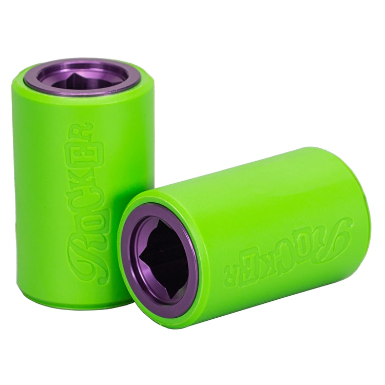 Rocker R3 12mm Stunt Plegs - Green/Purple