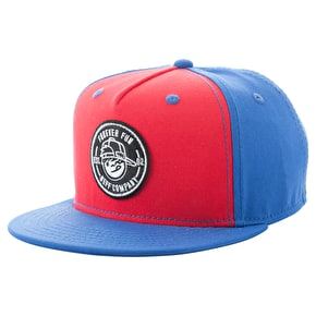Neff Kenny Patch Kids Cap - Blue/Red