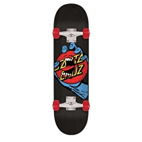 Santa Cruz Hand Dot Complete Skateboard - Black 8