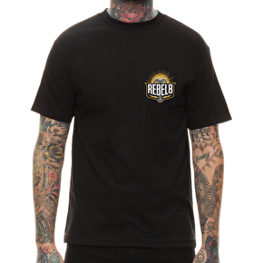 Rebel8 Standing Strong T-Shirt - Black