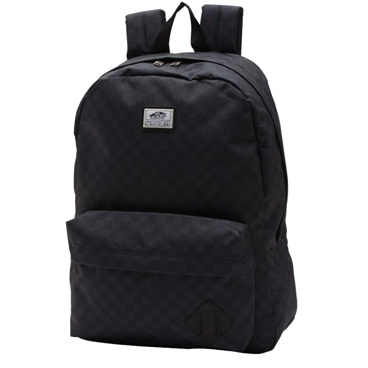Vans Old Skool II Backpack - Black/Charcoal Checkerboard