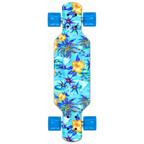 Maui and Sons Skateboard - Plastic FreeRide Island Oasis