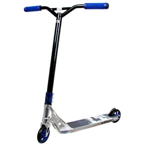 AO Stealth 3 LE III  Complete Scooter - Chrome/Blue
