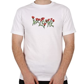 Welcome Zombie Love T Shirt - White