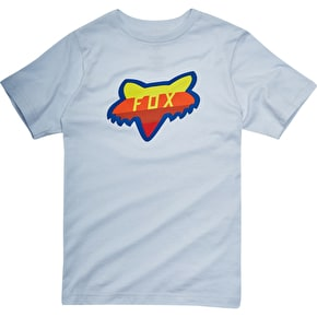 Fox Youth Draftr Head T-Shirt - Heather Grey