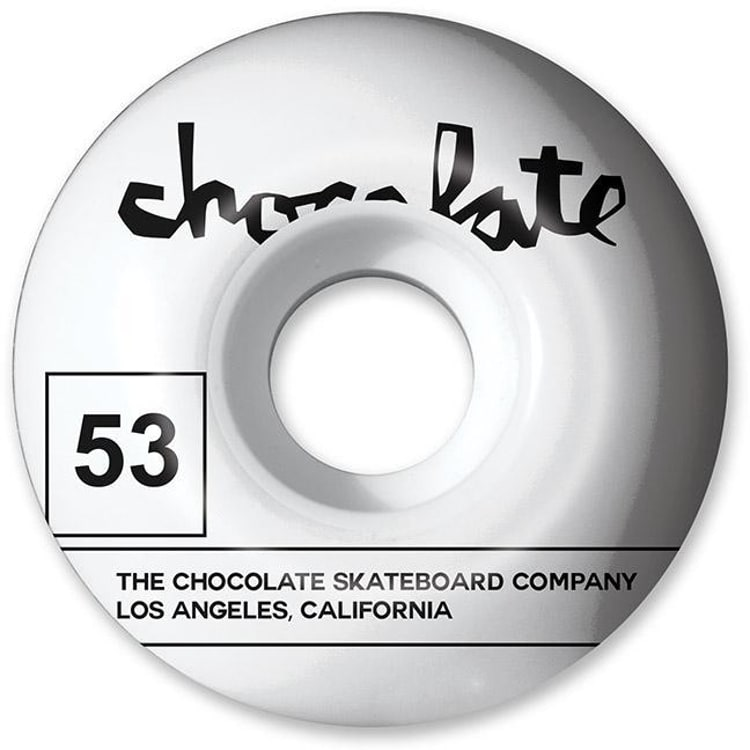 Chocolate Team 99a Skateboard Wheels - 53mm (Pack of 4)