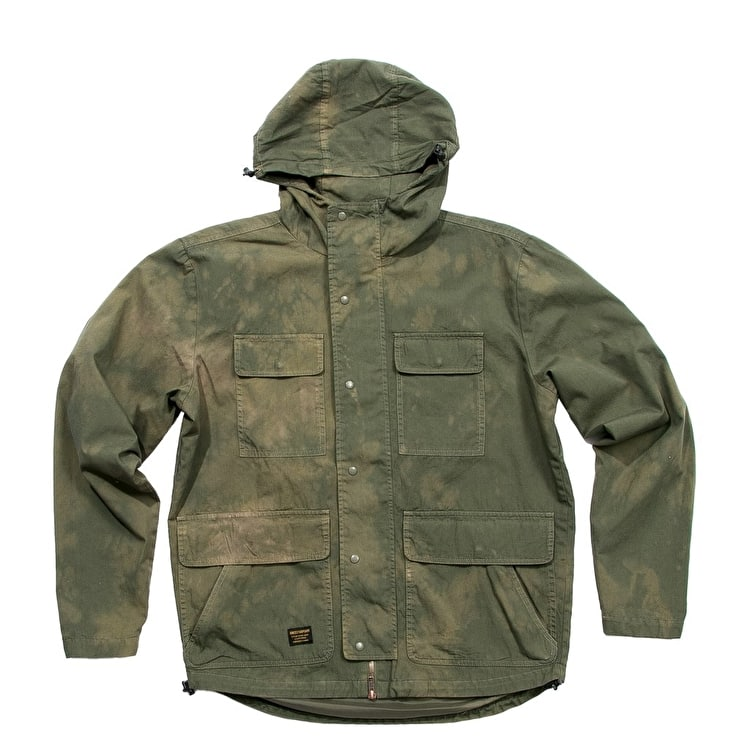 Grizzly Forester Dyed Camo Jacket - Olive Camo