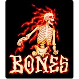 Bones Blazer Skateboard Sticker - Black 4