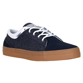 DVS Aversa Skate Shoes - Navy Chambray