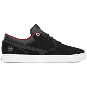 Etnies Rap CL Shoes - Black/White/Red