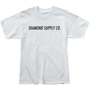 Diamond Italic T-Shirt - White