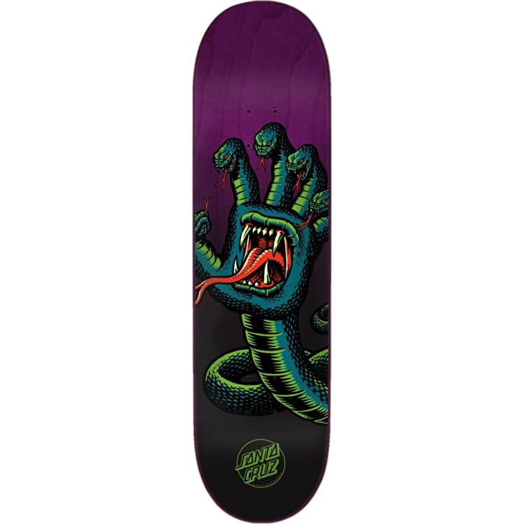 Santa Cruz Hissing Hand Skateboard Deck - Multi 8.375""