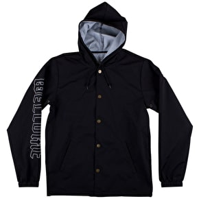 Welcome Symbol Coaches Jacket - Black/White