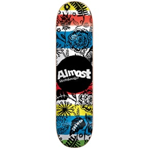 Almost Primal Prints Impact Plus Skateboard Deck - Daewon 8.0