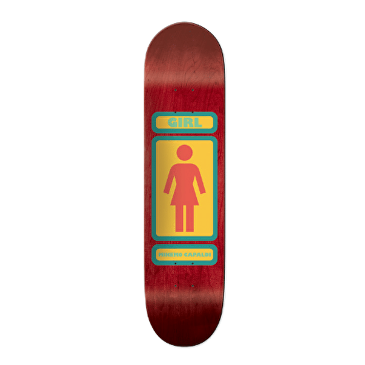 Girl 93 Til Skateboard Deck - Mike Mo 7.75""