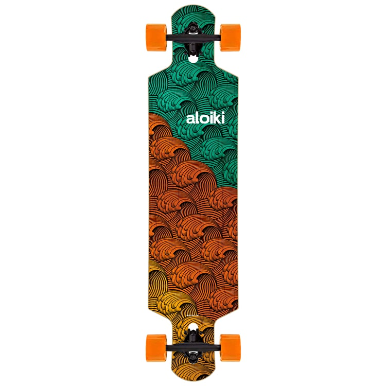 "Aloiki Rough Water 40.2"" Drop Through Complete Longboard"