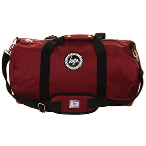 Hype Masterpiece Lined Burgundy Holdall
