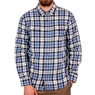 Vans Sycamore Flannel Shirt - Marshmallow Delft