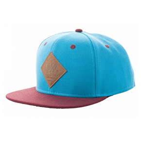Neff All Day 2 Snapback Cap - Blue/Maroon
