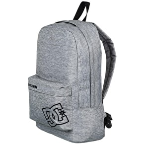 DC Bunker Solid Backpack - Grey Heather