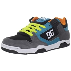 DC Flawless Skate Shoes - Black/Multi - Size UK 7 (B-Stock)