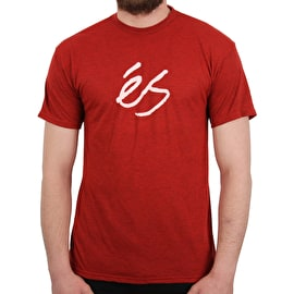 eS Mid Script Tech T Shirt - Red