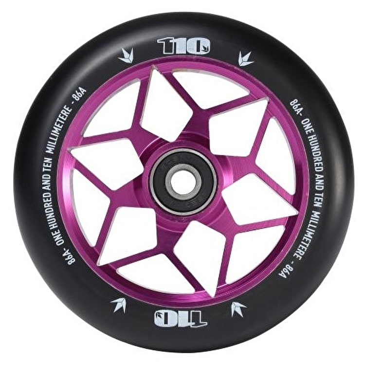 Blunt Envy Diamond 110mm Scooter Wheel - Purple