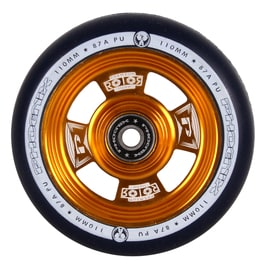 Phoenix Pro Rotor Scooter Wheel 110mm - Blue/Gold