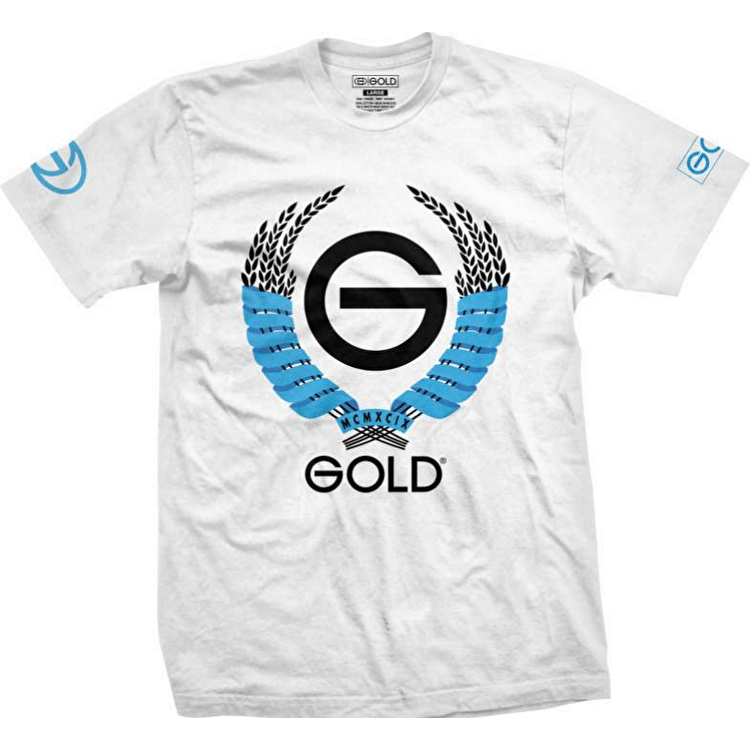 Gold Wheat T-Shirt - White