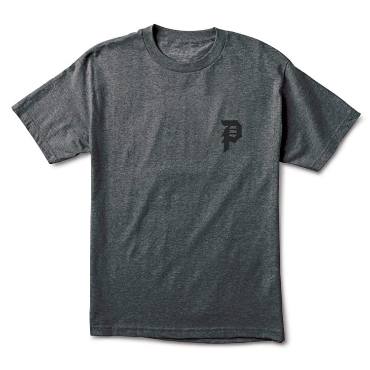 Primitive Dirty P T-Shirt - Black P Charcoal