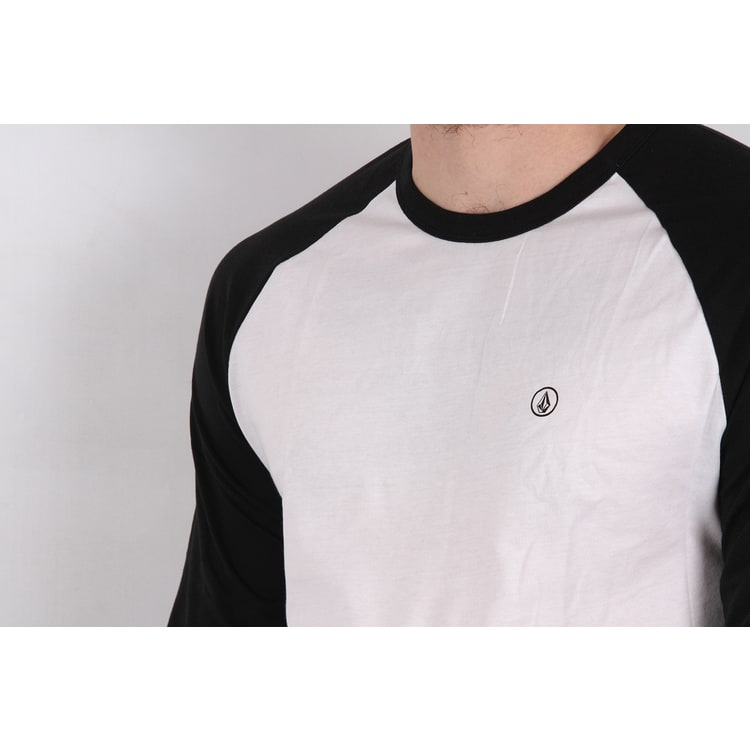 Volcom Pen Basic Long Sleeve T shirt - Black