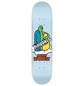 Krooked Skateboard Deck - Cloud Crowd Worrest Multi 8.18