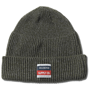 Diamond Supply Beanie - Olive