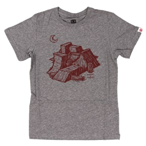 Element Ramps Kids T-Shirt - Grey Heather