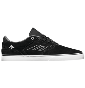 Emerica The Reynolds Low Vulc Shoes - Black/White/Silver