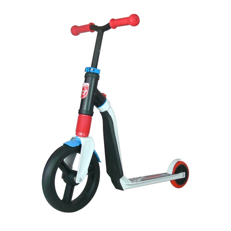 Scoot And Ride Highwayfreak 2in1 Junior Complete Scooter  WhiteRedBlue