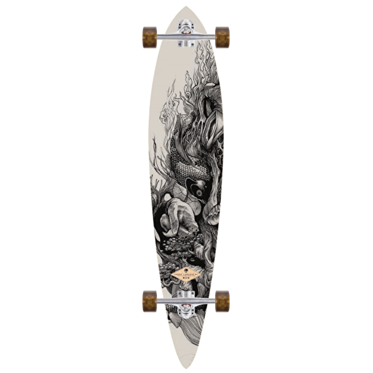 "Arbor Bamboo Timeless 46"" Complete Longboard"