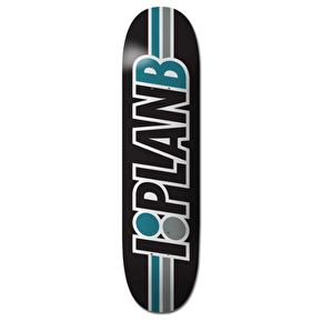 Plan B Team Speed Skateboard Deck - Black 8