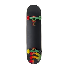B-Stock Enuff 2014 Logo Mini Complete Skateboard - Rasta (Slightly damaged)