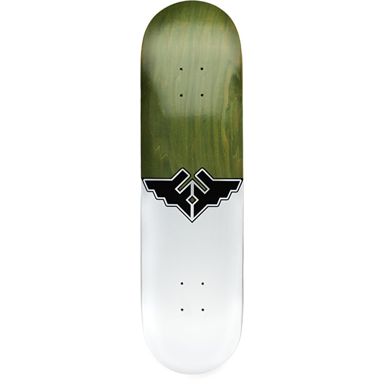 Fracture Wings V1 Skateboard Deck - Green 8""