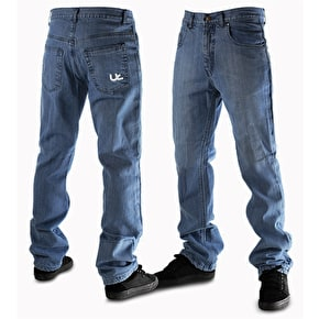 Urban Kreation Regular Fit Kevlar lined Jeans - Blue