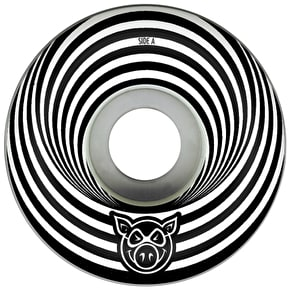 Pig Vertigo Skateboard Wheels - Black 52mm