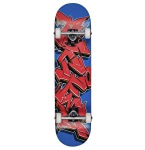 Rocket Skateboard - Graffiti Series Red/Blue 7.75